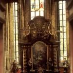 Varhany v kostele sv.Gotharda ve Slaném