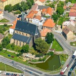 Chrám sv.Gotharda ve Slaném (foto: Pavel Vychodil)