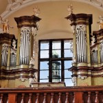Varhany v kapli Zasnoubení P.Marie v piaristické koleji ve Slaném