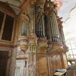 Varhany v kostele Nanebevzetí Panny Marie ve Zlonicích