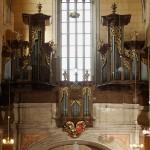 Varhany v chrámu sv.Gotharda ve Slaném