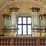 Varhany v kapli Zasnoubení Panny Marie ve Slaném