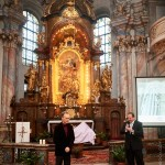 Balys Vaitkus, kostel Nanebevzetí Panny Marie ve Zlonicích, 8. 10. 2016