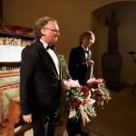 Michael Schönheit a Gotthold Schwarz, klášterní kostel Nejsv.Trojice ve Slaném, 12. 10. 2016