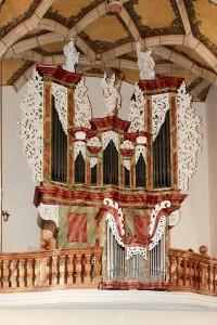 Varhany v kostele sv.Petra a Pavla v Mělníku