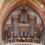 Varhany v kostele P.Marie Vítězné v Řepíně