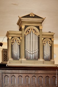 Varhany v kostele sv.Václava v Psárech-Dolních Jirčanech