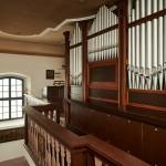 Varhany v kostele sv.Jiří ve Vraném nad Vltavou