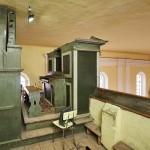 Varhany v kostele sv.Petra a Pavla ve Zlatníkách