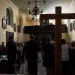 Pavel Černý, kostel sv.Václava v Psárech-Dolních Jirčanech, 12. 9. 2018