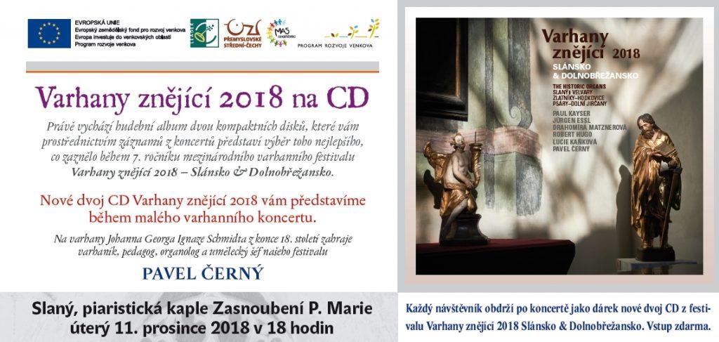 Představení CD z festivalu Varhany znějící 2018