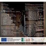 CD Varhany znějící 2018 Slánsko & Dolnobřežansko (zadní strana obalu)